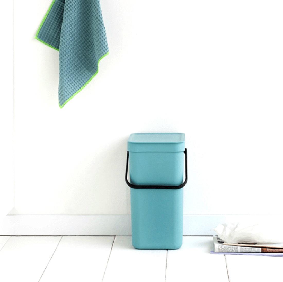Ведро для мусора Sort&Go Brabantia, объем 12 л, мятный Brabantia 109744 фото 6