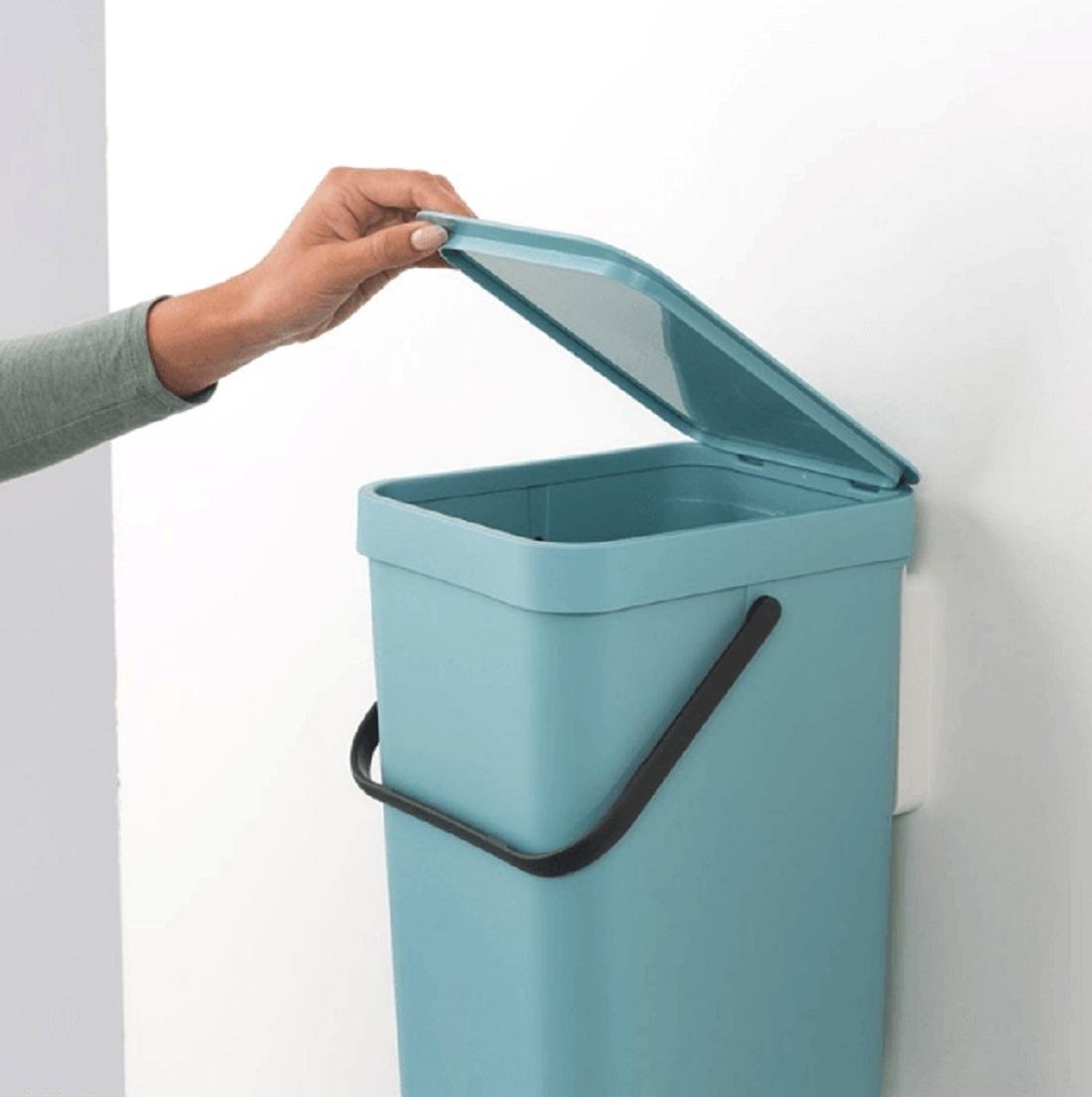Ведро для мусора Sort&Go Brabantia, объем 12 л, мятный Brabantia 109744 фото 7