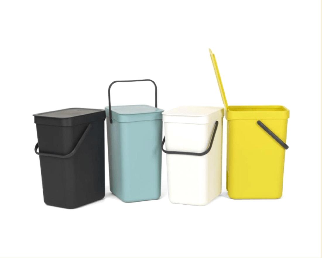 Ведро для мусора Sort&Go Brabantia, объем 12 л, мятный Brabantia 109744 фото 8