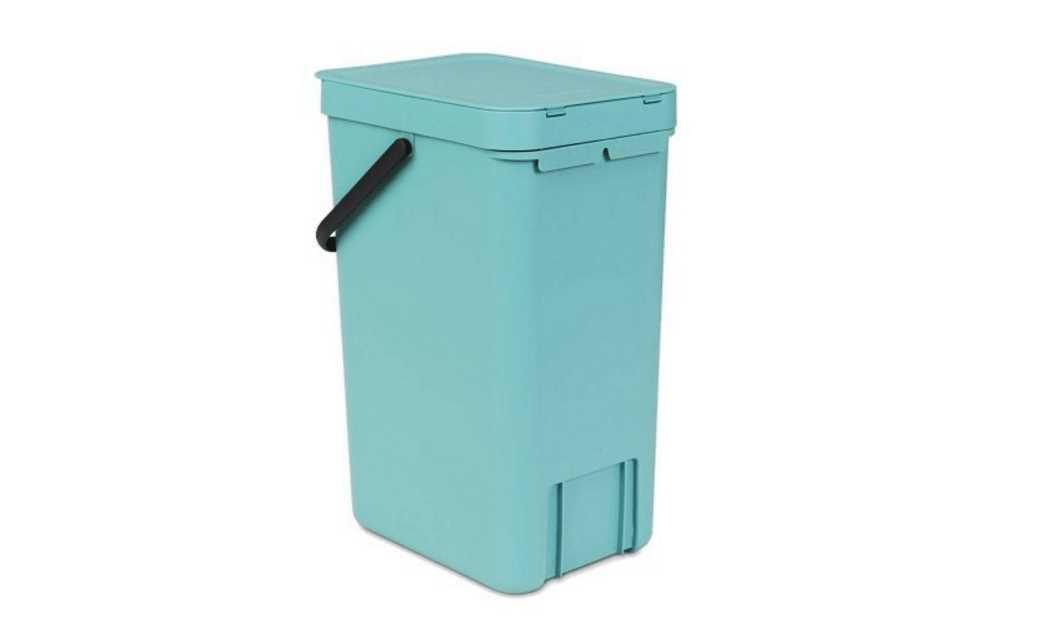 Ведро для мусора Sort&Go Brabantia, объем 16 л, мятный Brabantia 109843 фото 2