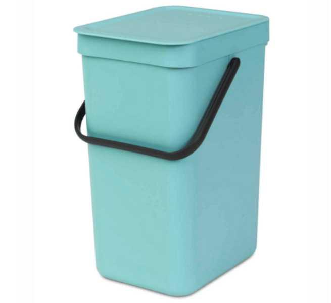 Онлайн каталог PROMENU: Ведро для мусора Sort&Go Brabantia, объем 16 л, мятный Brabantia 109843