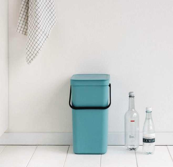 Ведро для мусора Sort&Go Brabantia, объем 16 л, мятный Brabantia 109843 фото 5