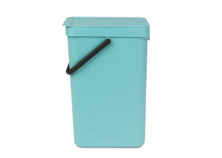 Ведро для мусора Sort&Go Brabantia, объем 16 л, мятный Brabantia 109843 фото 1