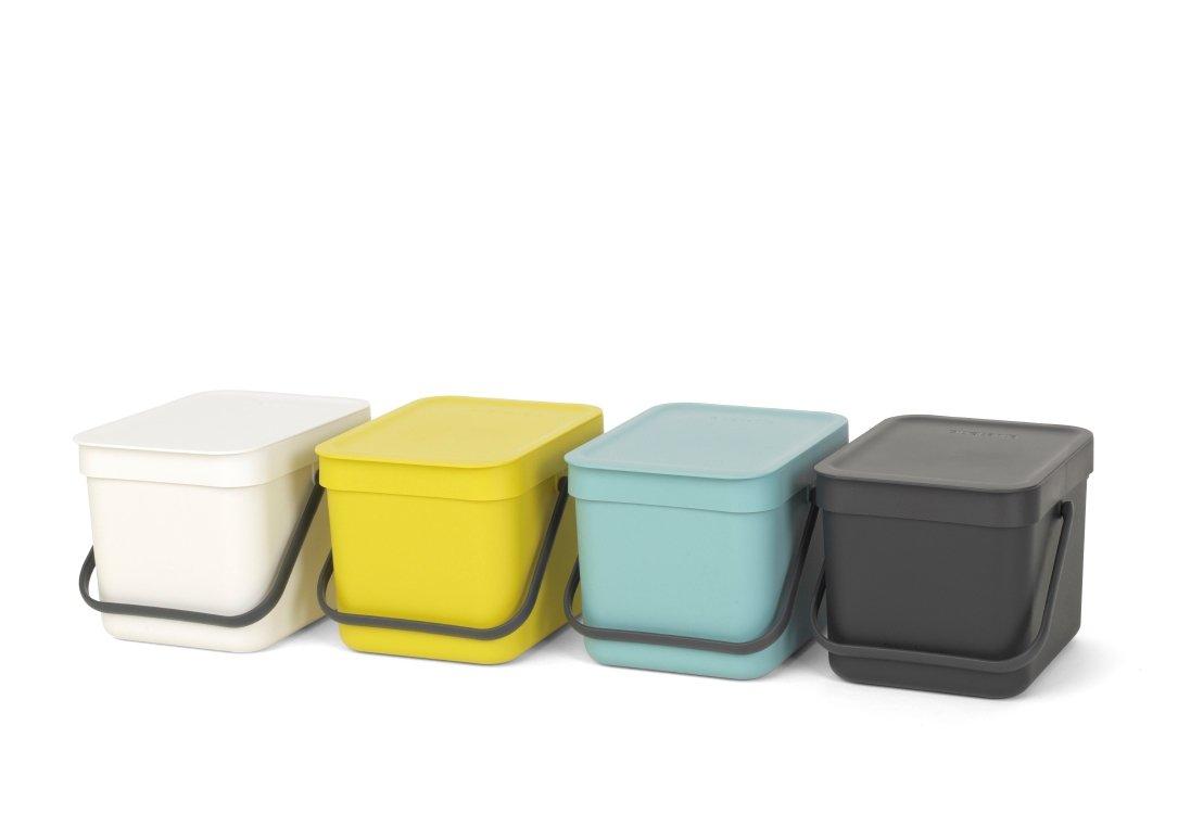 Ведро для мусора Sort&Go Brabantia, объем 6 л, белый Brabantia 109706 фото 4
