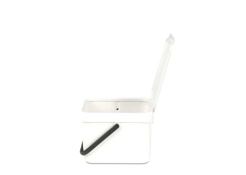 Ведро для мусора Sort&Go Brabantia, объем 6 л, белый Brabantia 109706 фото 1