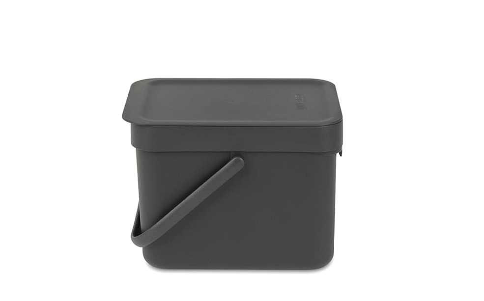Ведро для мусора Sort&Go Brabantia, объем 6 л, серый Brabantia 109720 фото 1