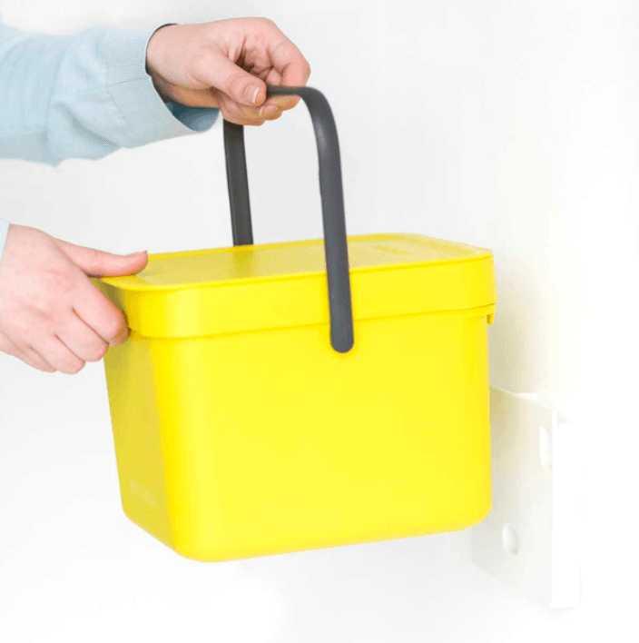 Ведро для мусора Sort&Go Brabantia, объем 6 л, желтый Brabantia 109683 фото 1