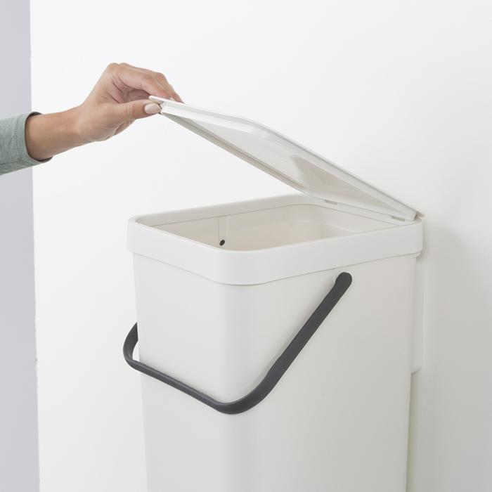 Ведро мусорное Sort&Go Brabantia, объем 16 л, белый Brabantia 109942 фото 4