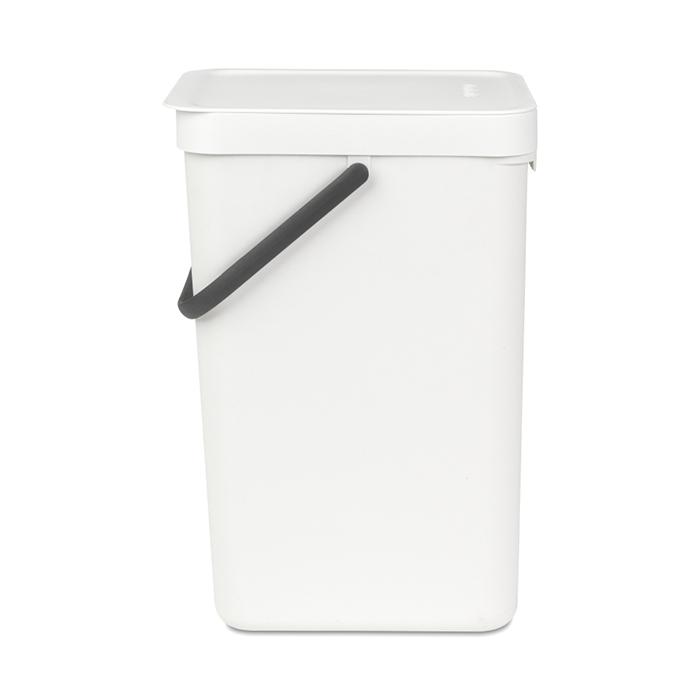 Ведро мусорное Sort&Go Brabantia, объем 16 л, белый Brabantia 109942 фото 1