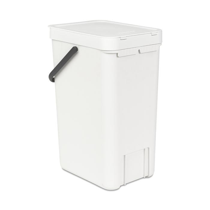 Ведро мусорное Sort&Go Brabantia, объем 16 л, белый Brabantia 109942 фото 3