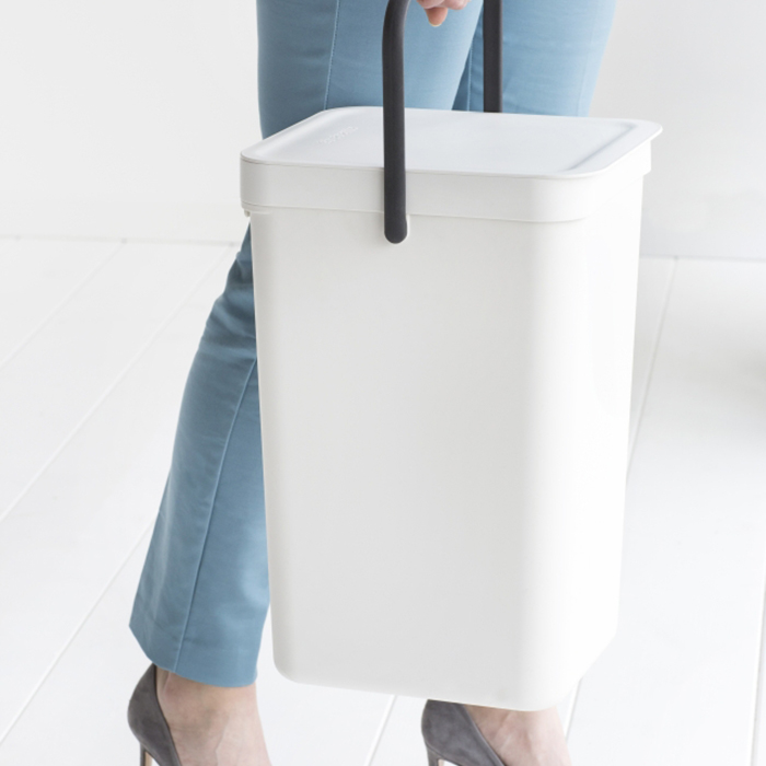 Ведро мусорное Sort&Go Brabantia, объем 16 л, белый Brabantia 109942 фото 6