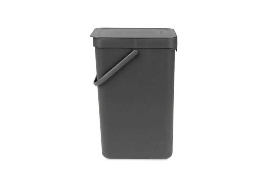 Ведро мусорное Sort&Go Brabantia, объем 16 л, серый Brabantia 109966 фото 3