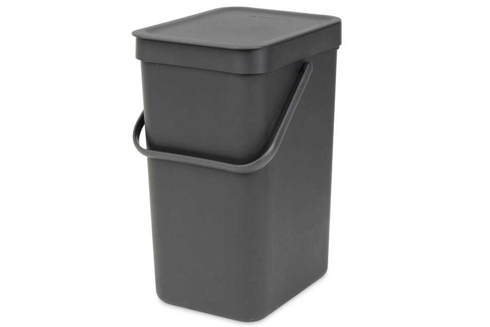 Онлайн каталог PROMENU: Ведро мусорное Sort&Go Brabantia, объем 16 л, серый Brabantia 109966