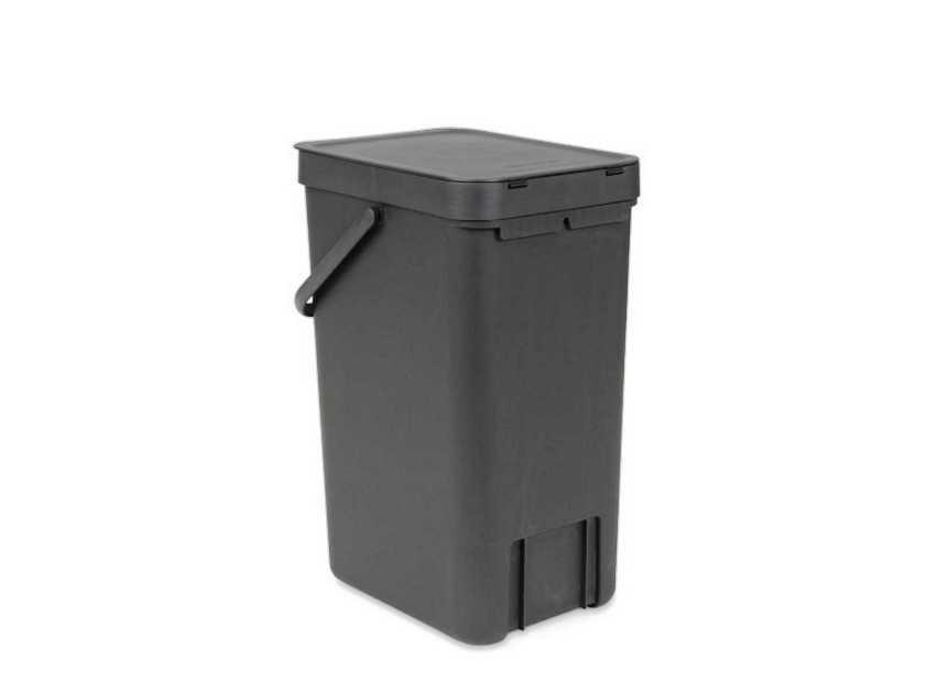Ведро мусорное Sort&Go Brabantia, объем 16 л, серый Brabantia 109966 фото 2