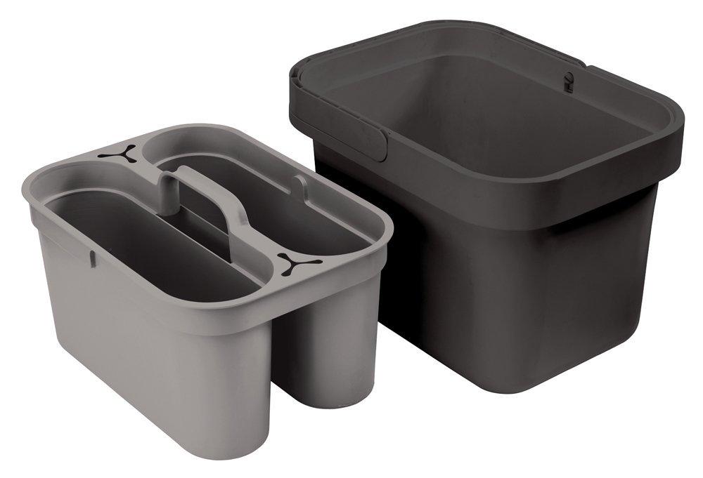 Онлайн каталог PROMENU: Ведро со съемным контейнером для хранения Joseph Joseph CLEAN & STORE, серый с черным Joseph Joseph 85030