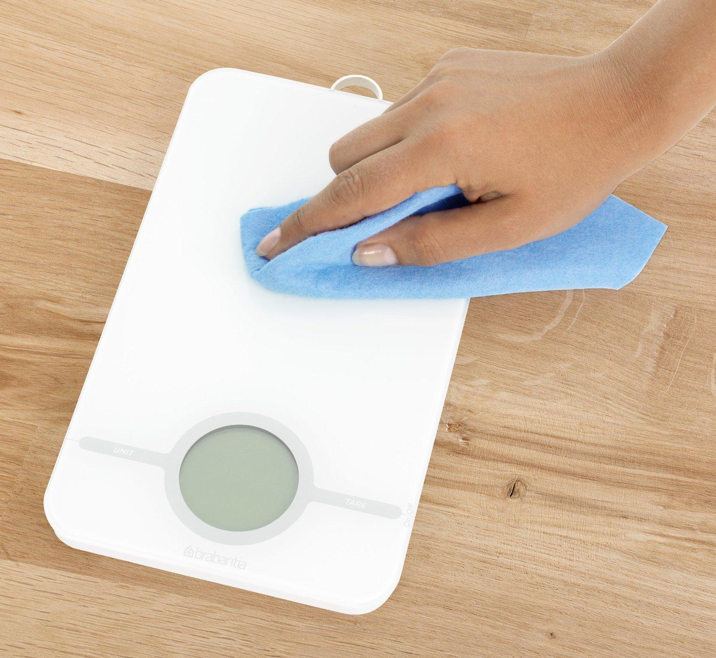 Весы цифровые кухонные Brabantia, 26,6x15,1x18 см, белый Brabantia 480584 фото 4