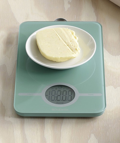 Весы цифровые кухонные Brabantia, 26,6x15,1x18 см, зеленый Brabantia 480720 фото 1