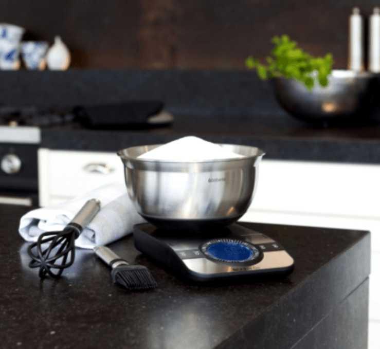 Весы цифровые кухонные Brabantia, серый Brabantia 480607 фото 7