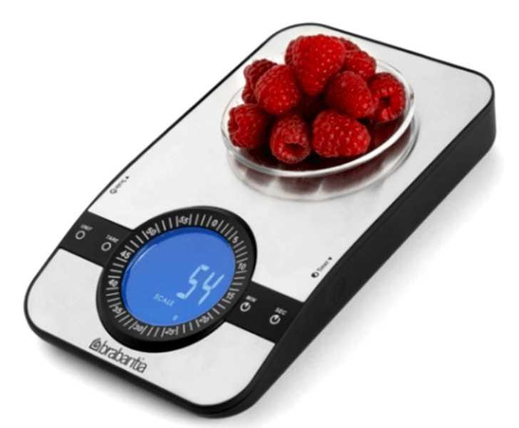 Весы цифровые кухонные Brabantia, серый Brabantia 480607 фото 4