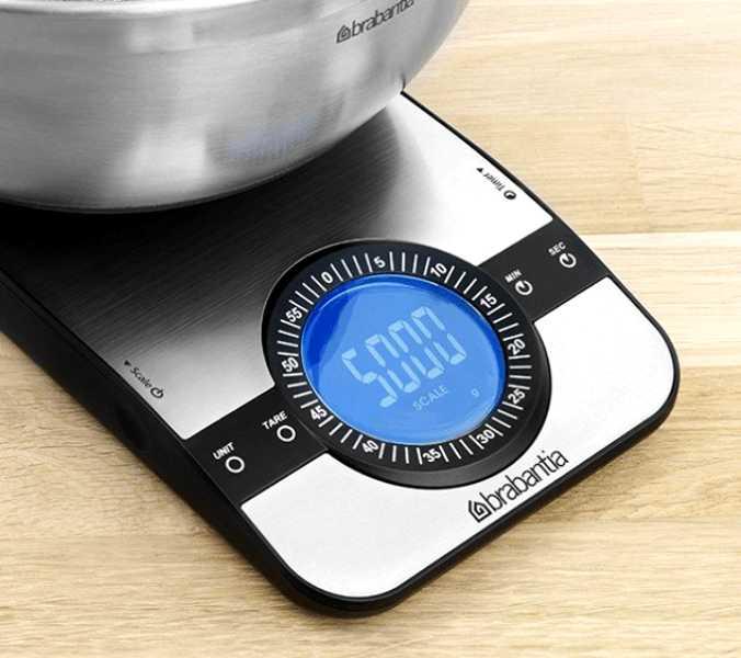 Весы цифровые кухонные Brabantia, серый Brabantia 480607 фото 1