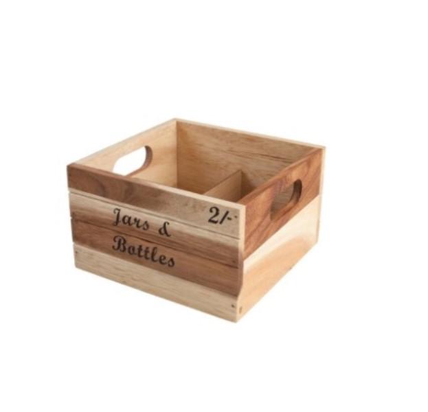Онлайн каталог PROMENU: Ящик для хранения бутылок T&G, 20,5х20х12 см, бежевый T&G 10907