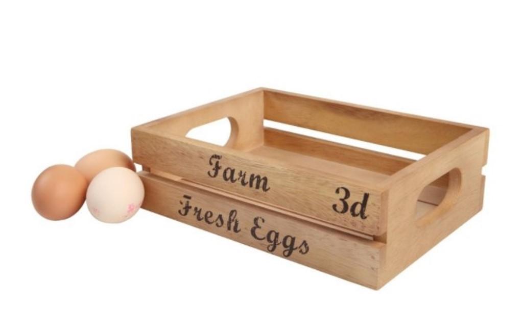 Онлайн каталог PROMENU: Ящик для хранения яиц T&G Baroque, бежевый T&G 09700