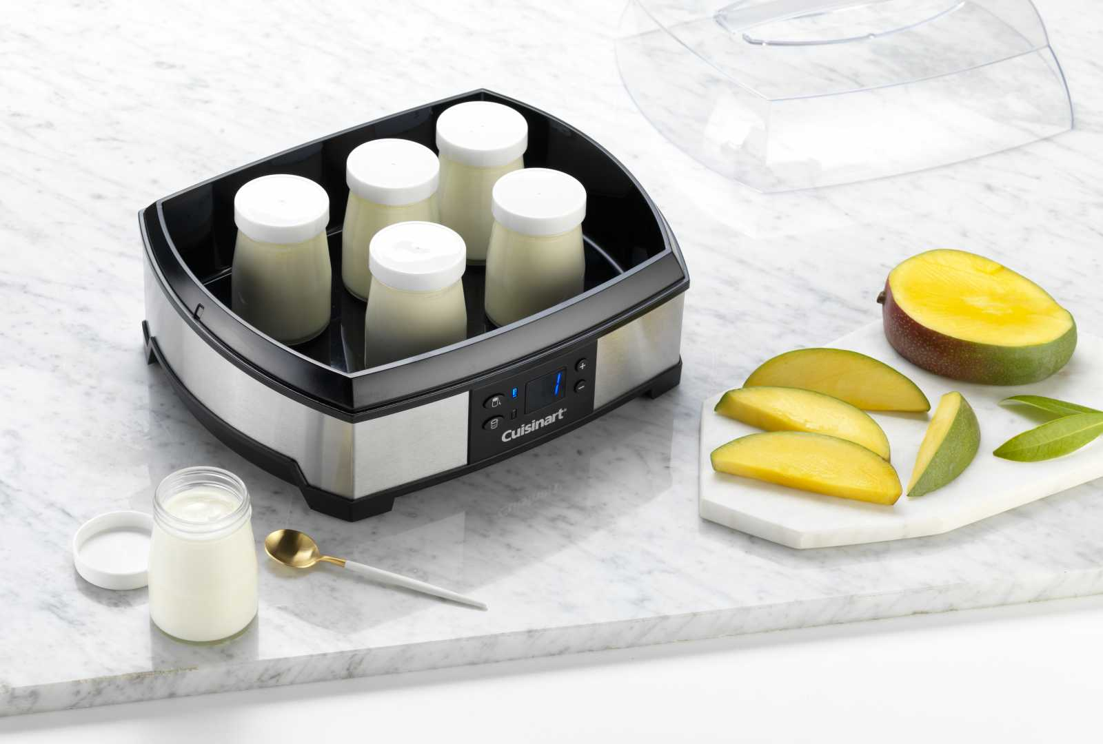 Йогуртница-творожница Cuisinart, 30х14,5х23 см Cuisinart YM400E фото 2