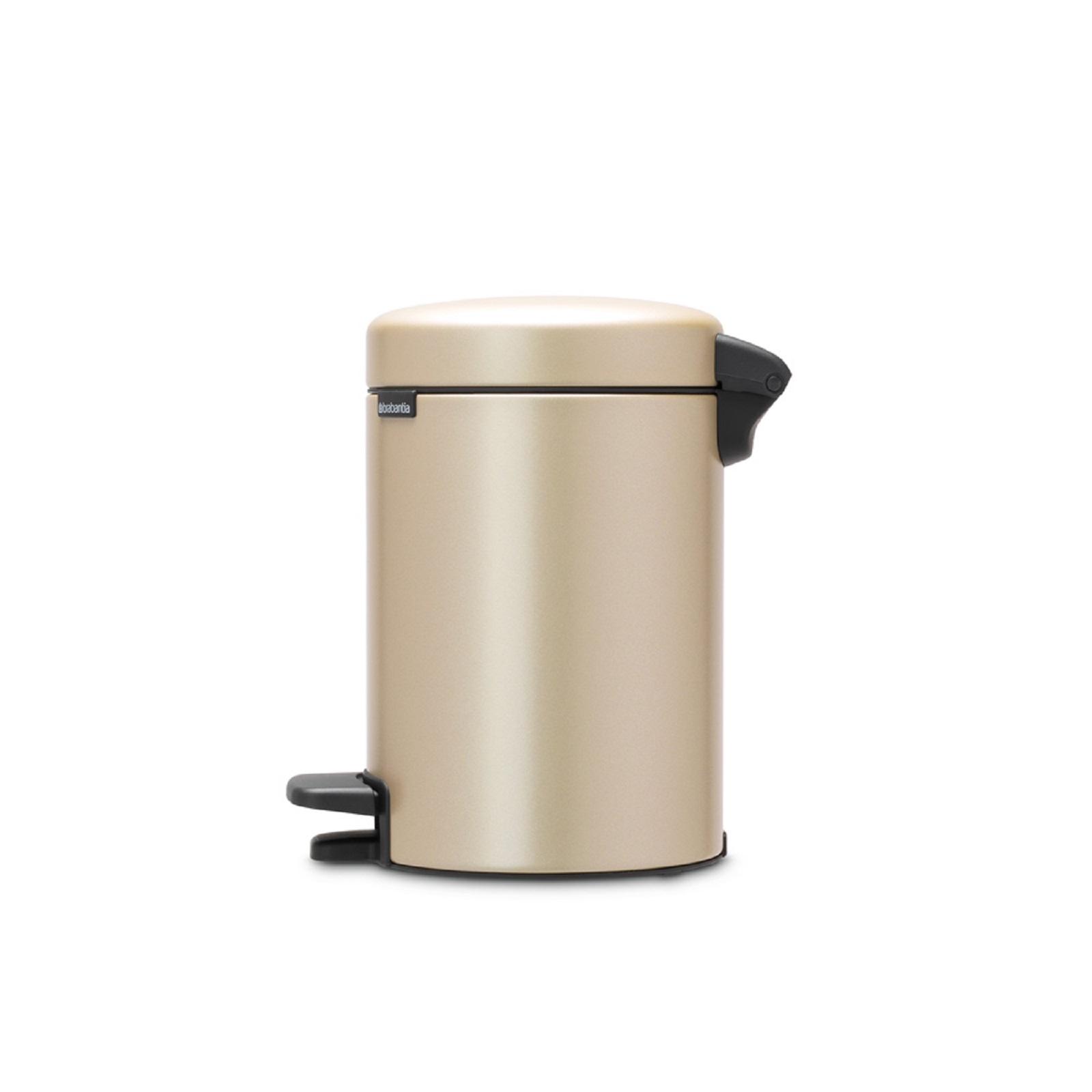 Бак для мусора Pedal Bin NewIcon Brabantia, объем 3 л, шампань бежевый Brabantia 304408 фото 6