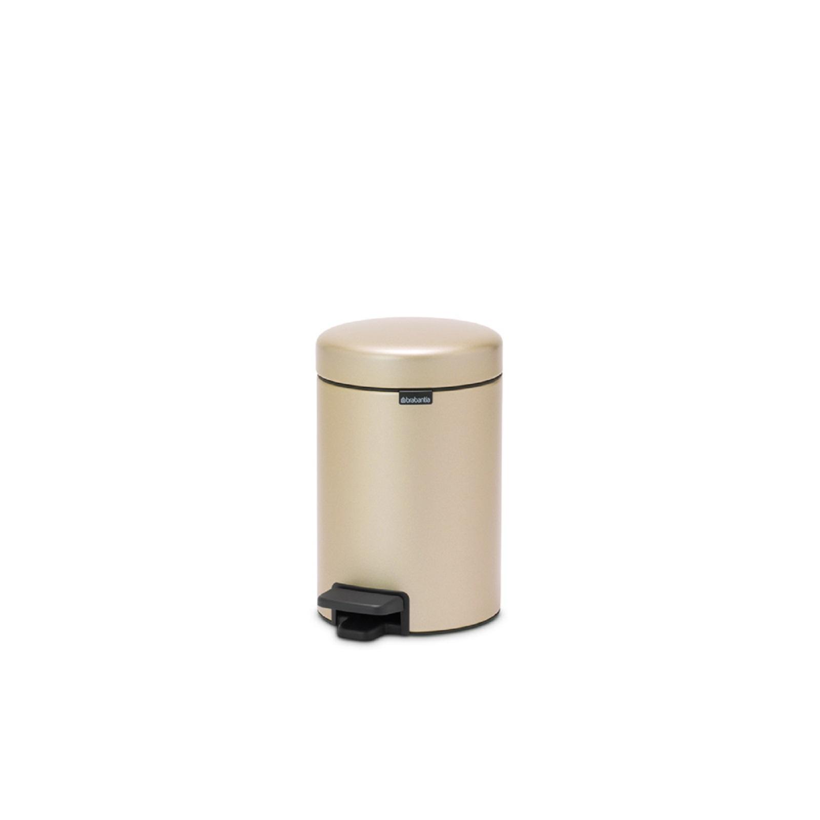 Бак для мусора Pedal Bin NewIcon Brabantia, объем 3 л, шампань бежевый Brabantia 304408 фото 2