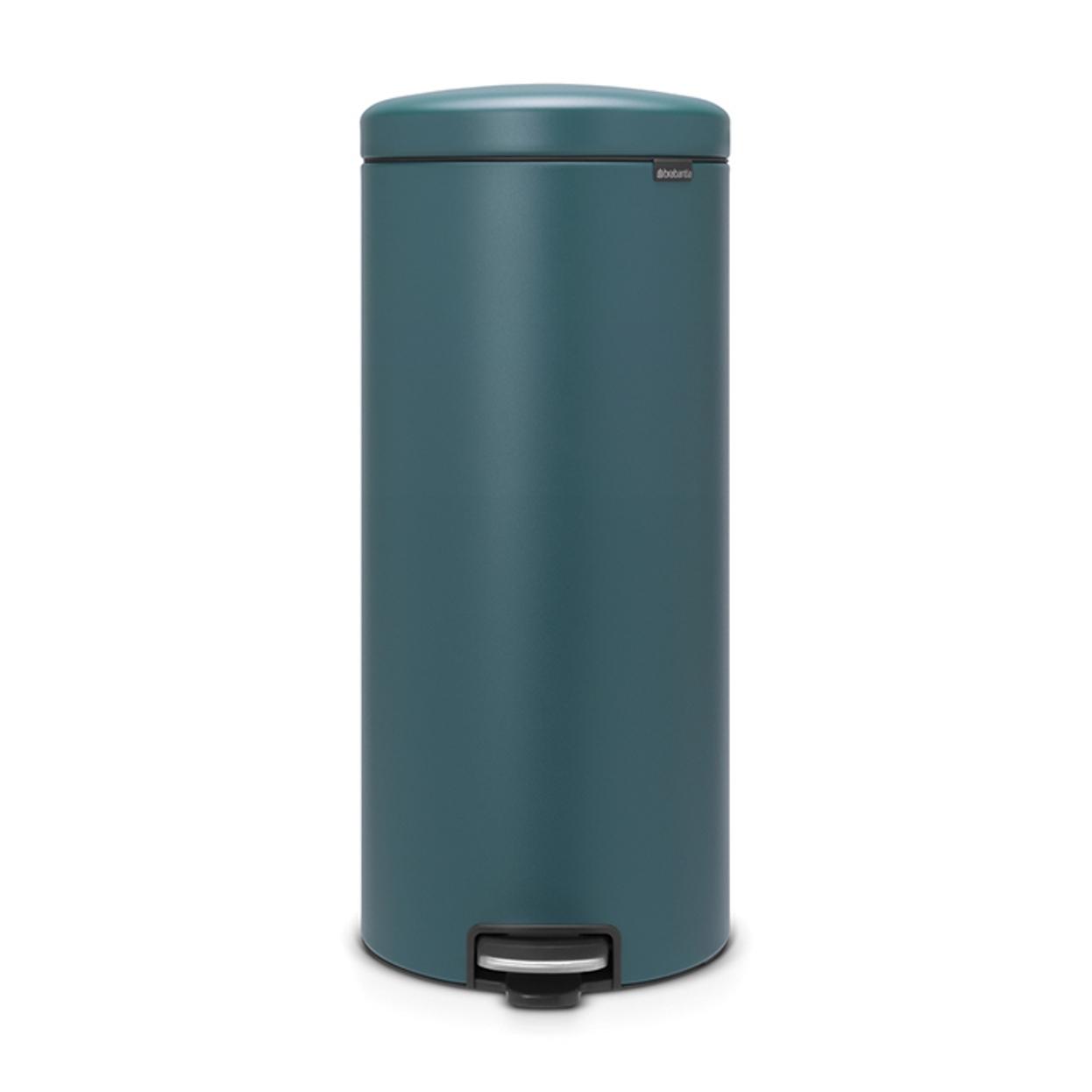 Онлайн каталог PROMENU: Бак для мусора Pedal Bin Brabantia newIcon, 30 л, синий Brabantia 116025