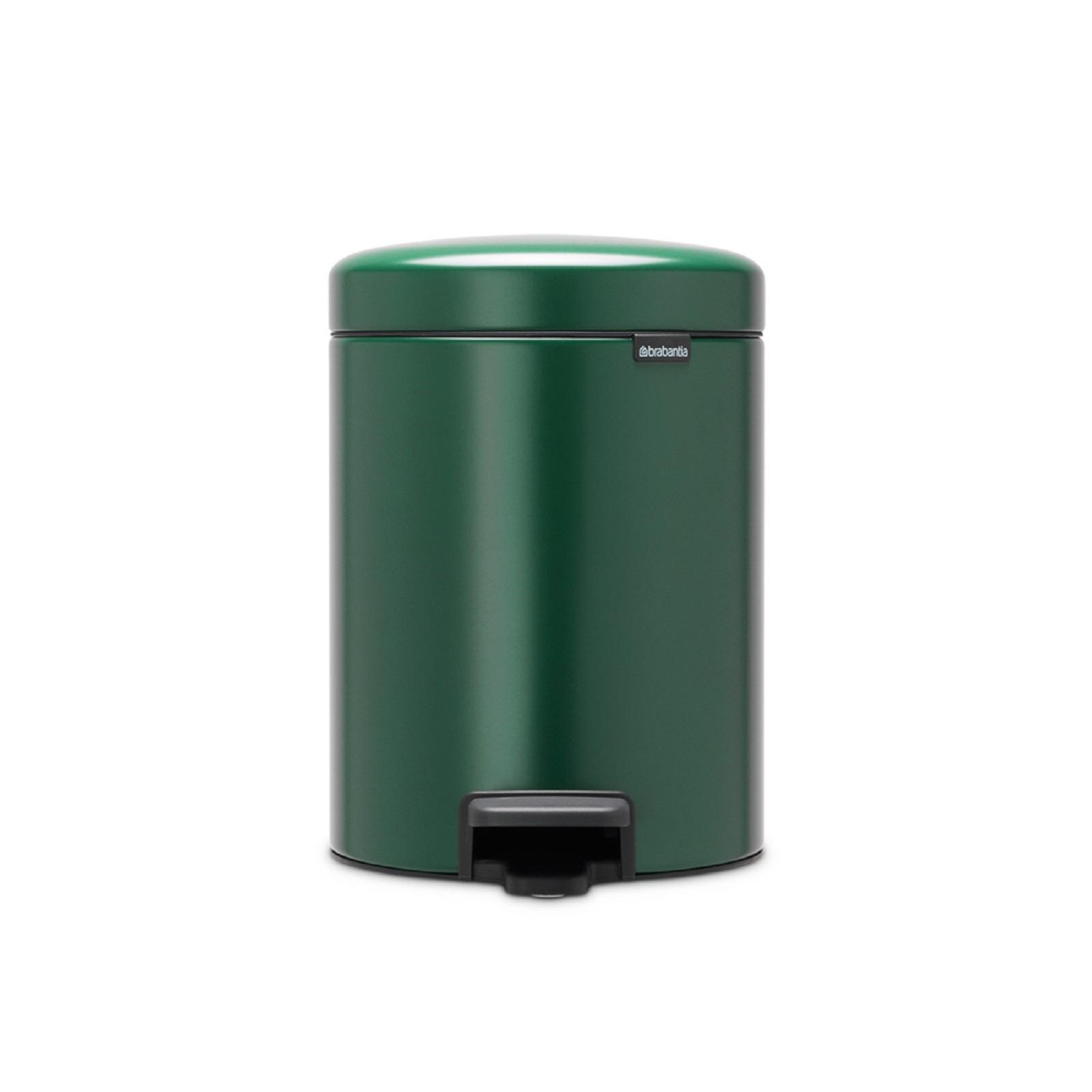 Онлайн каталог PROMENU: Бак для мусора Pedal Bin NewIcon Brabantia, объем 5 л, зеленый  304026
