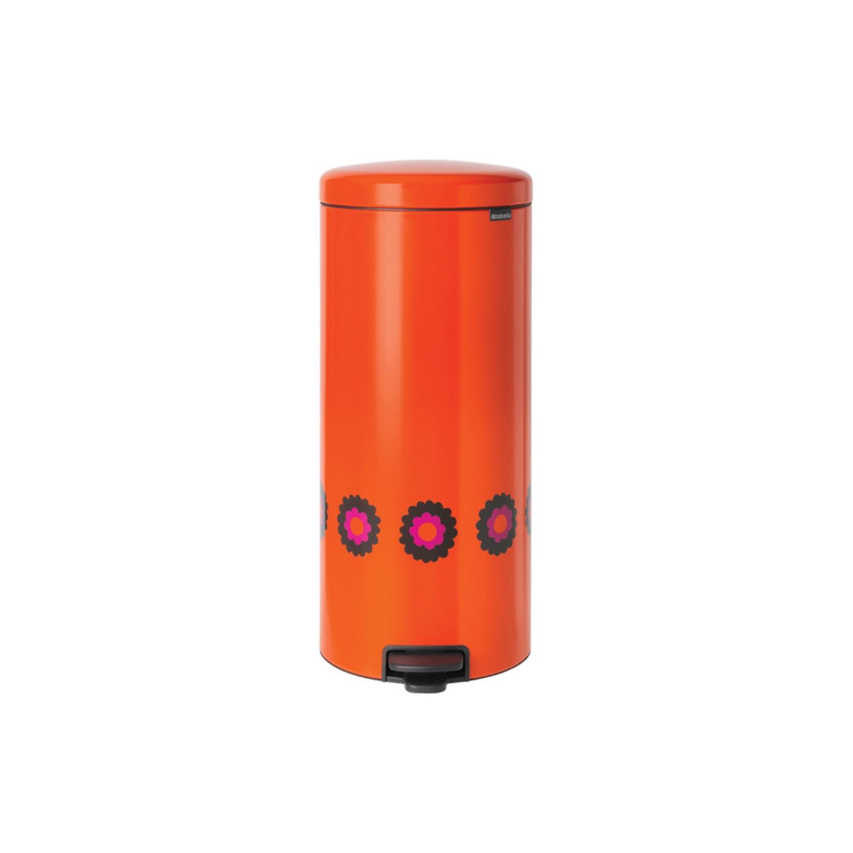 Онлайн каталог PROMENU: Бак для мусора Pedal Bin Brabantia newIcon, объем 30 л, оранжевый Brabantia 125508