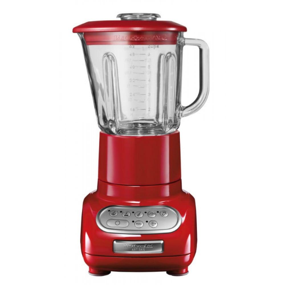 Онлайн каталог PROMENU: Блендер стационарный KitchenAid, объем чаши 1,5 л, красный KitchenAid 5KSB5553EER