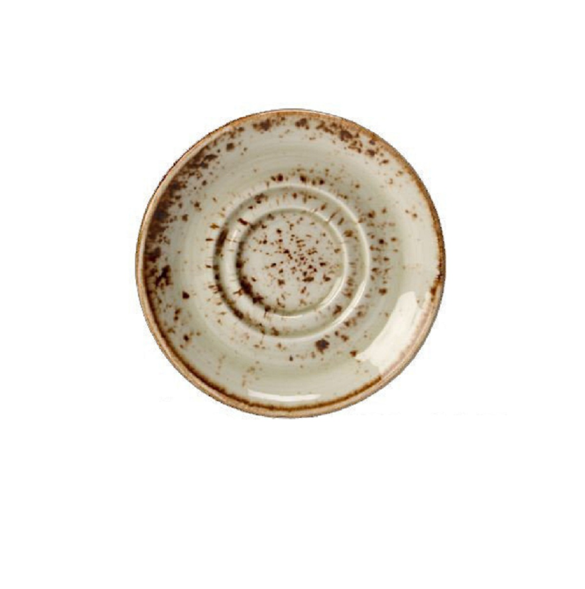 Онлайн каталог PROMENU: Блюдце фарфоровое Steelite CRAFT PORCINI, диаметр 14,5 см, бежевый