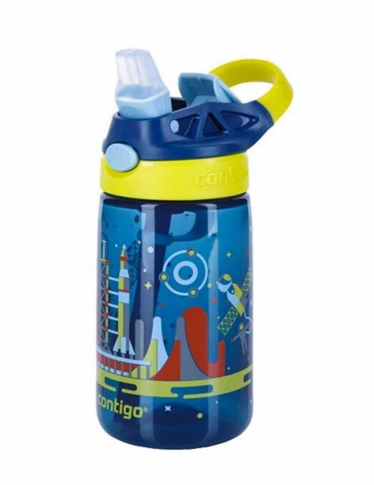 Онлайн каталог PROMENU: Бутылка детская Contigo GIZMO FLIP, объем 0,42 л, синий                               2094997