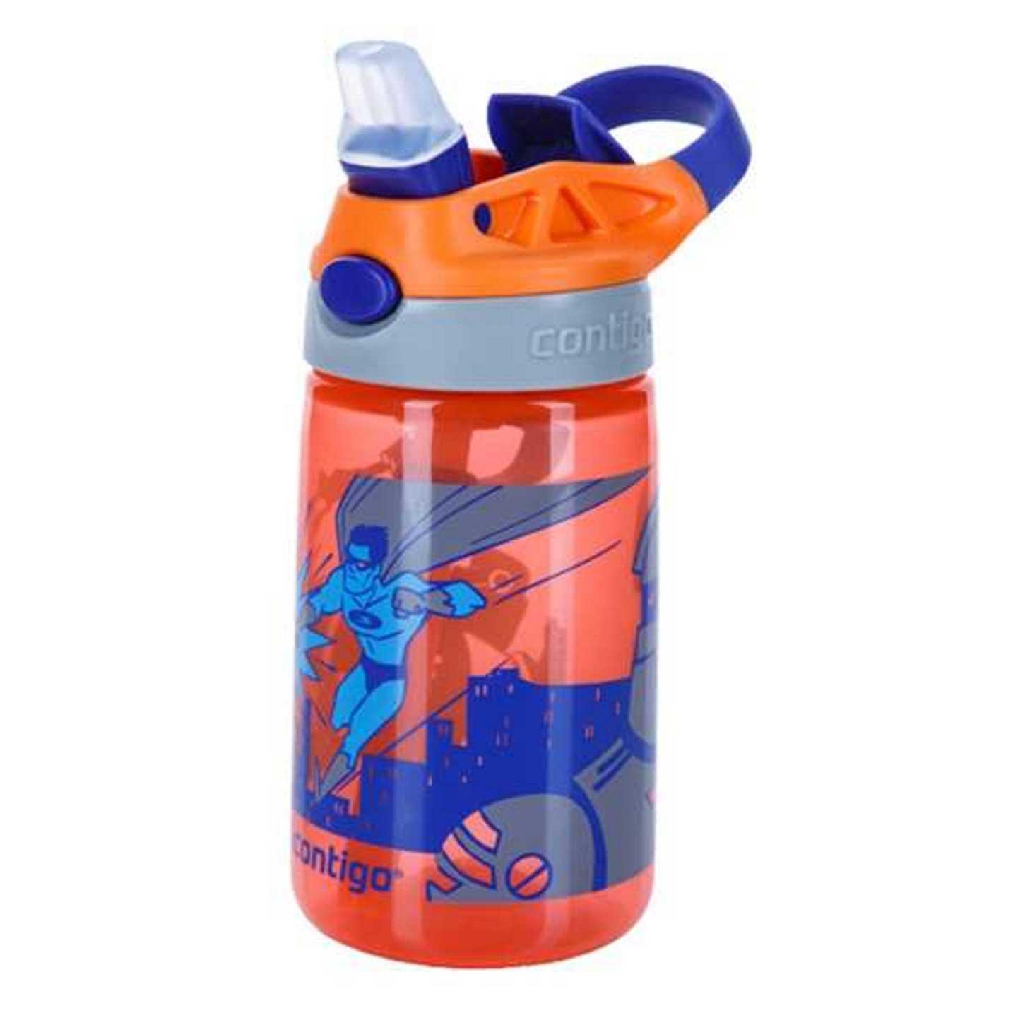 Онлайн каталог PROMENU: Бутылка детская Contigo GIZMO FLIP, объем 0,42 л, оранжевый Contigo 2094998