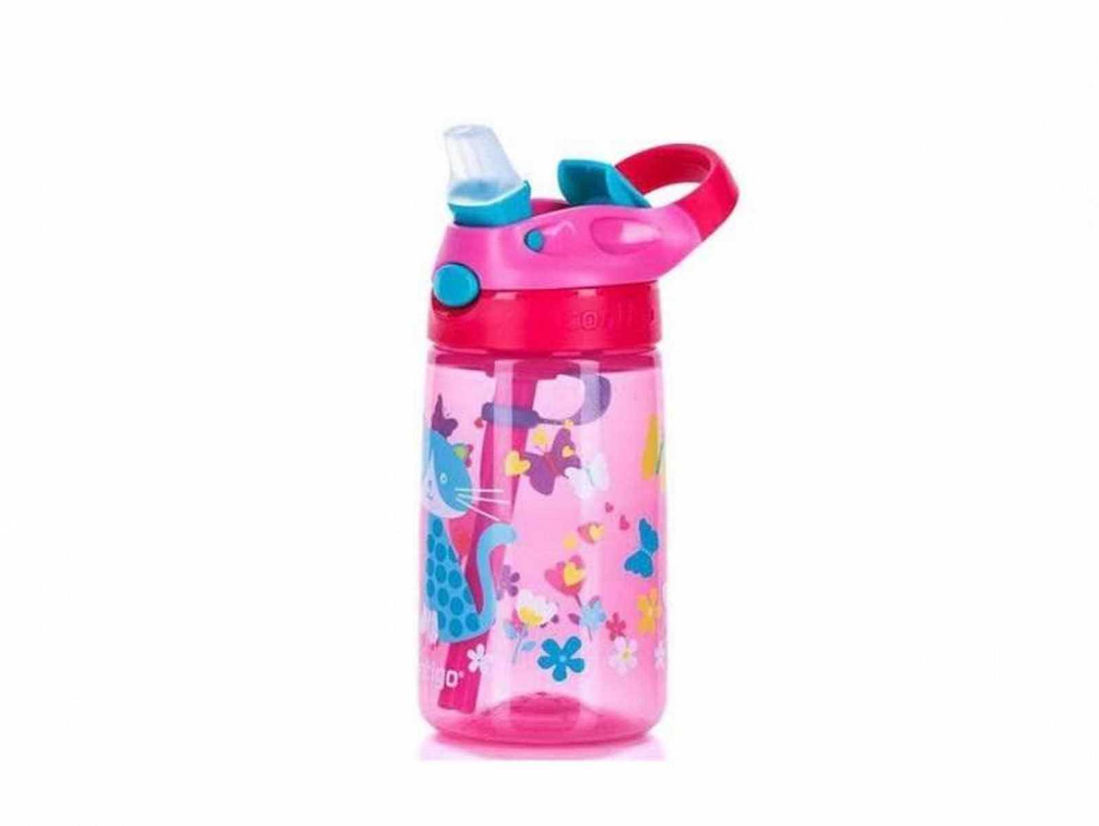 Онлайн каталог PROMENU: Бутылка детская Contigo GIZMO FLIP, объем 0,42 л, розовый                               2094996