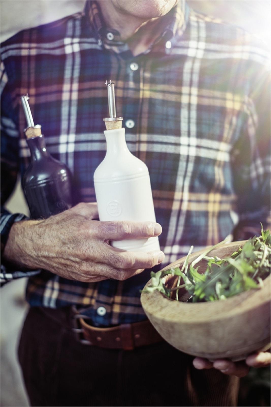 Бутылка для масла/уксуса Emile Henry, объем 0,45 л, светло-бежевый Emile Henry 020215 фото 5