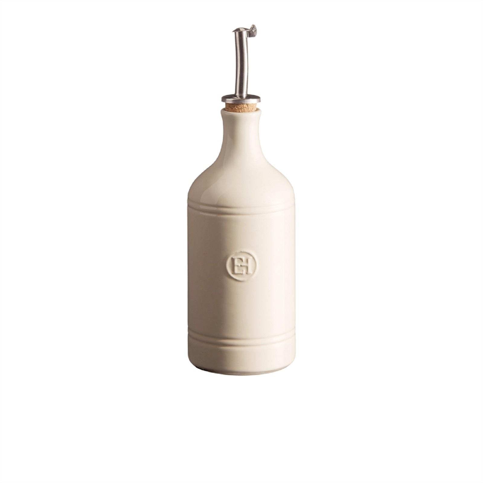 Онлайн каталог PROMENU: Бутылка для масла/уксуса Emile Henry, объем 0,45 л, светло-бежевый Emile Henry 020215