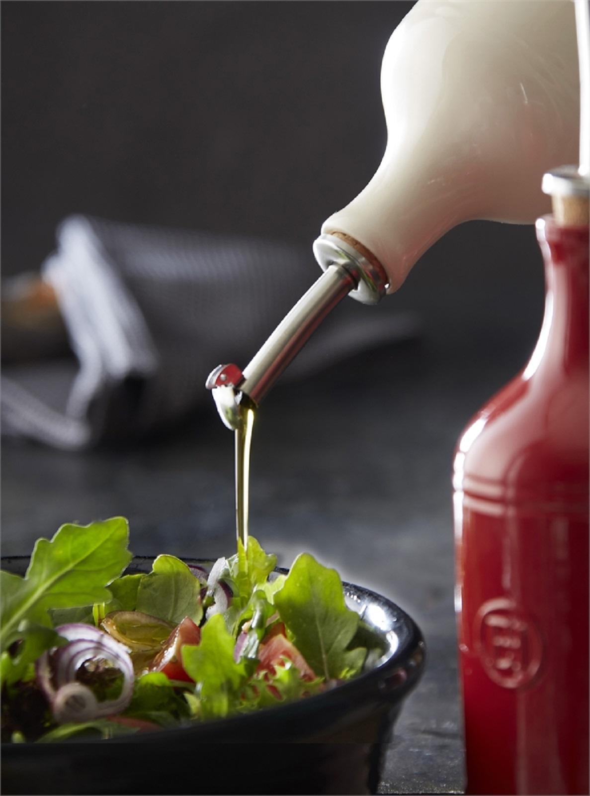 Бутылка для масла/уксуса Emile Henry, объем 0,45 л, светло-бежевый Emile Henry 020215 фото 4