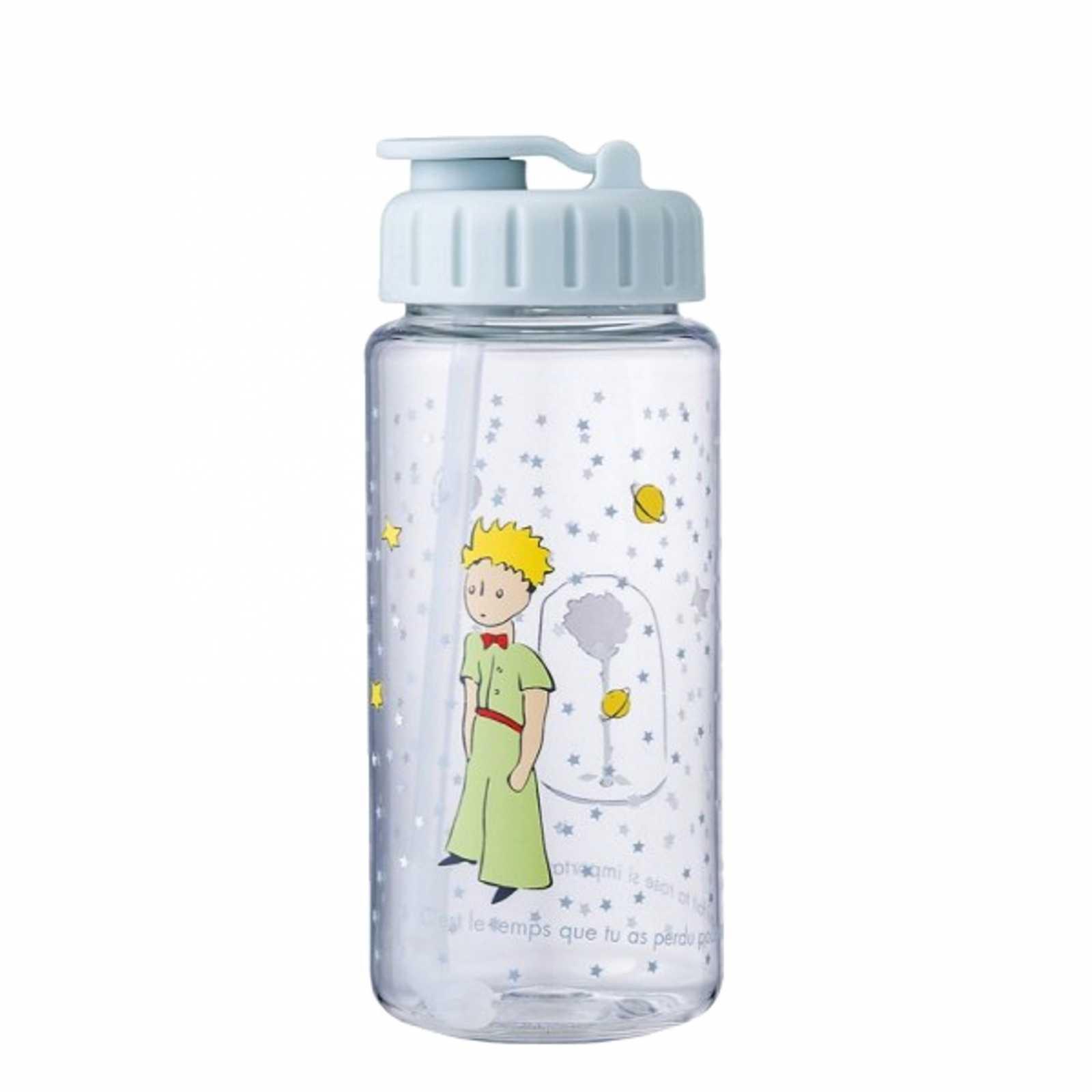 Онлайн каталог PROMENU: Бутылка детская Maison Petit Jour LE PETIT PRINCE, объем 0,35 л, прозрачная с рисунком  PP900K
