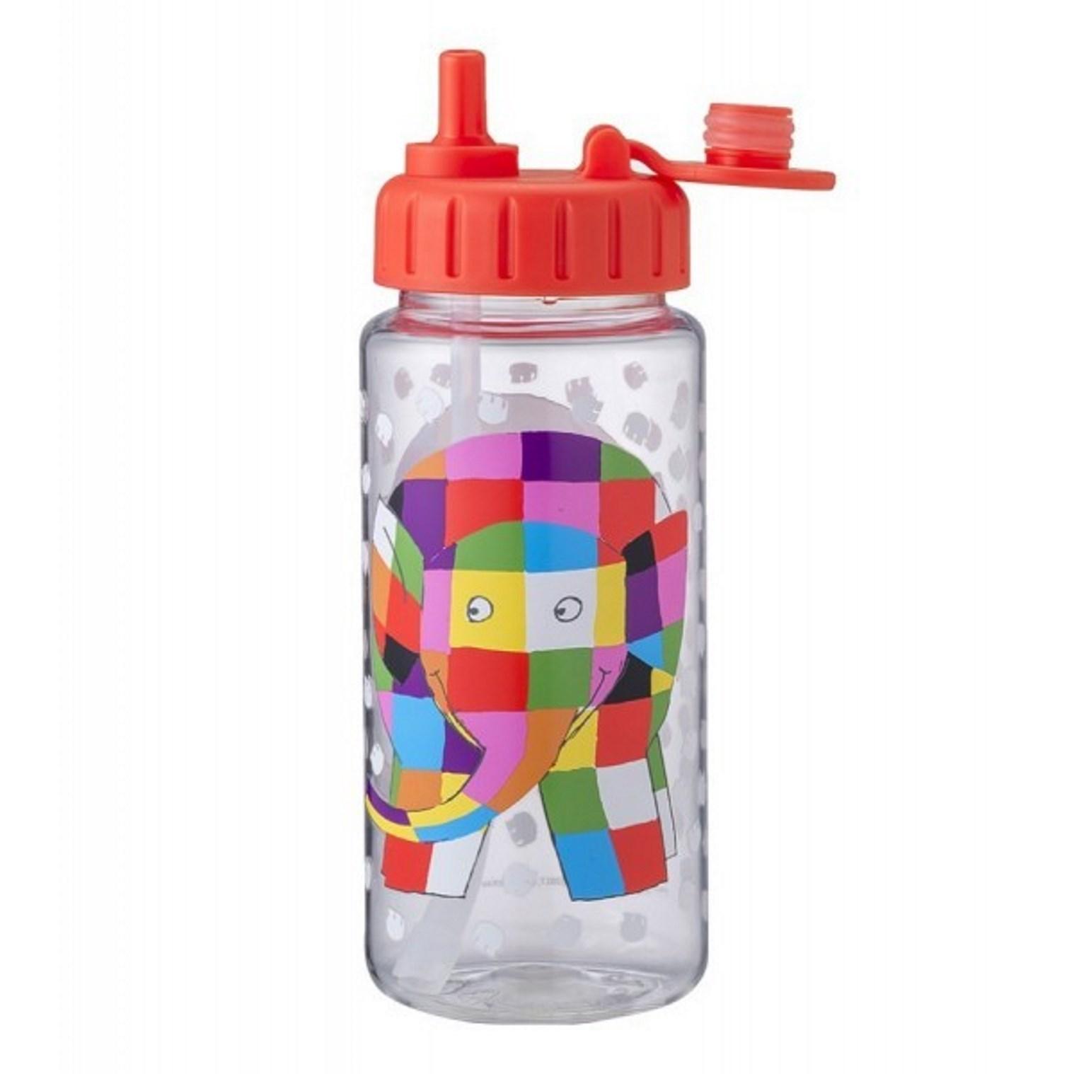 """Онлайн каталог PROMENU: Бутылка для воды """"Слоник"""" Maison Petit Jour ELMER, объем 0,35 л, прозрачный Petit Jour Paris EL900K"""