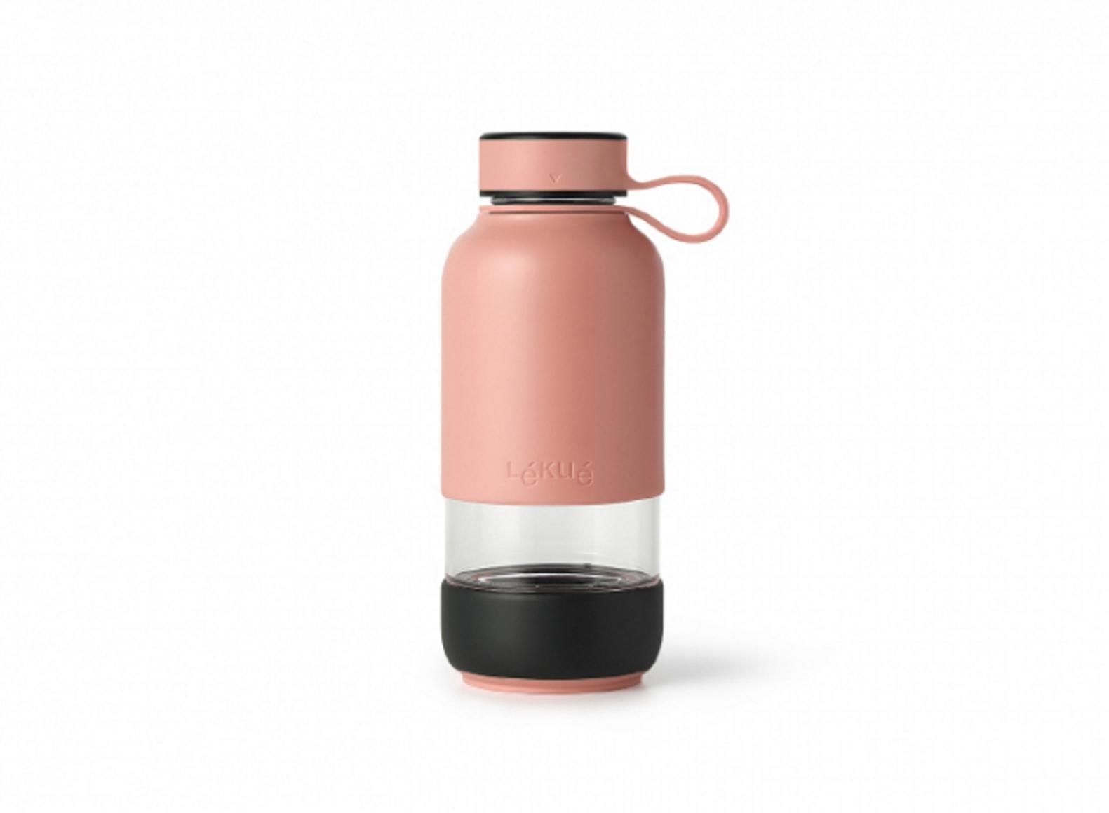 Онлайн каталог PROMENU: Бутылка для воды Lekue TO GO, объем 0,6 л, розовый Lekue 0302018R06M017