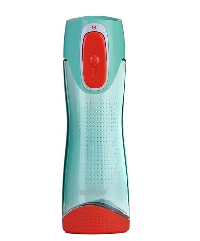 Онлайн каталог PROMENU: Бутылка спортивная Contigo SWISH, объем 0,5 л, голубой с красным Contigo 2095119