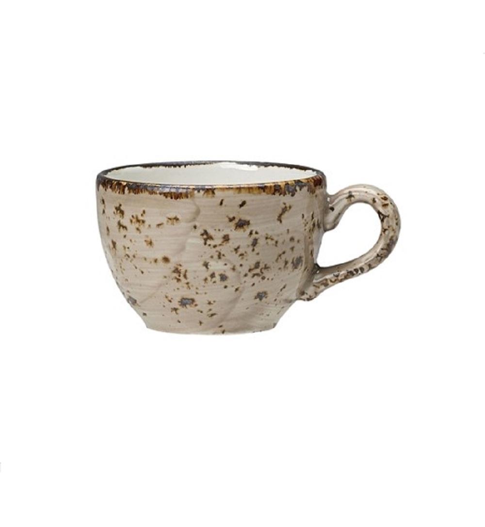 Онлайн каталог PROMENU: Чашка фарфоровая Steelite CRAFT PORCINI, 0, 085 л, бежевый