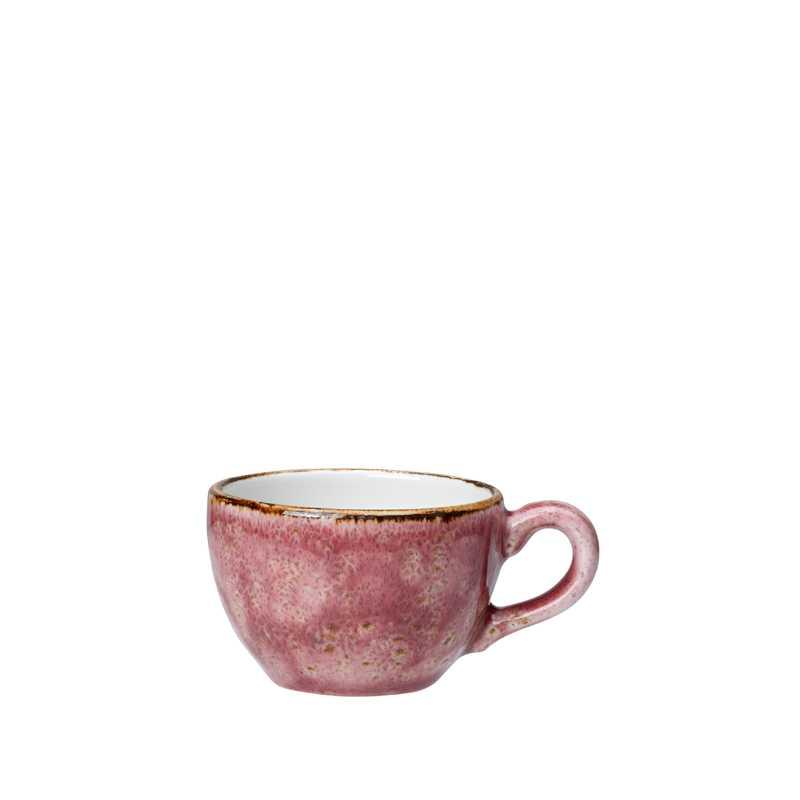 Онлайн каталог PROMENU: Чашка фарфоровая Steelite CRAFT RASPBERRY, объем 0,085 л, розовый