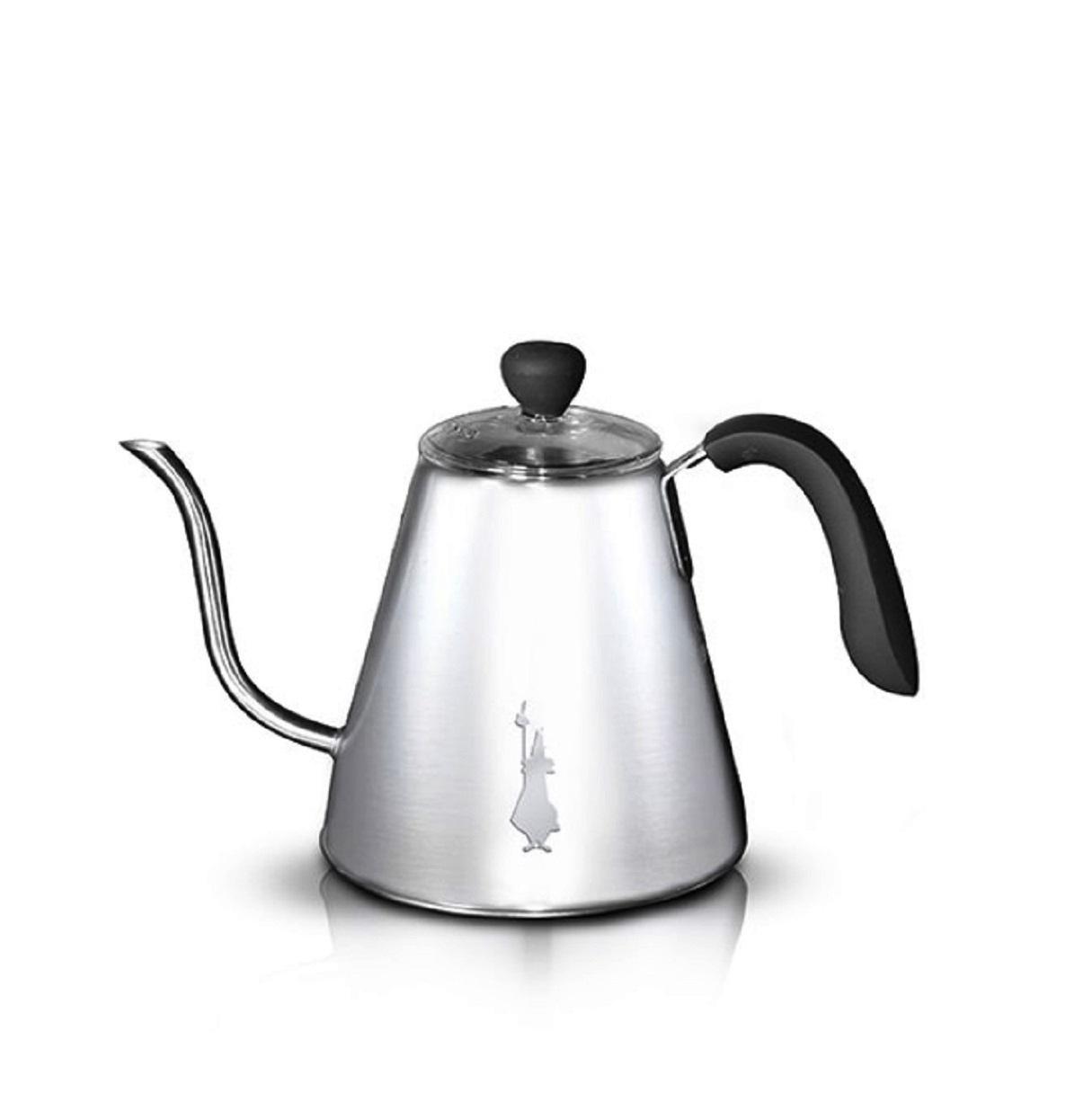 Онлайн каталог PROMENU: Чайник индукционный Bialetti POUR OVER ACCESSORIES, объем 1 л, нержавеющая сталь                               0005474