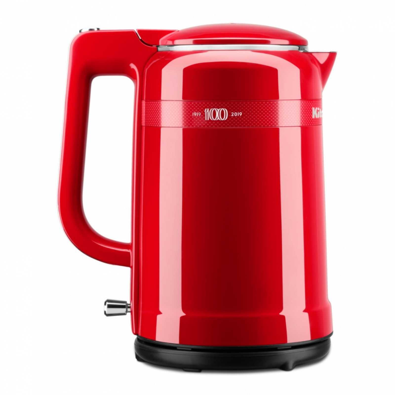 Онлайн каталог PROMENU: Электрочайник KitchenAid Design Queen of Hearts, объем 1,5 л, 26х22х15 см, чувственный красный                               5KEK1565HESD
