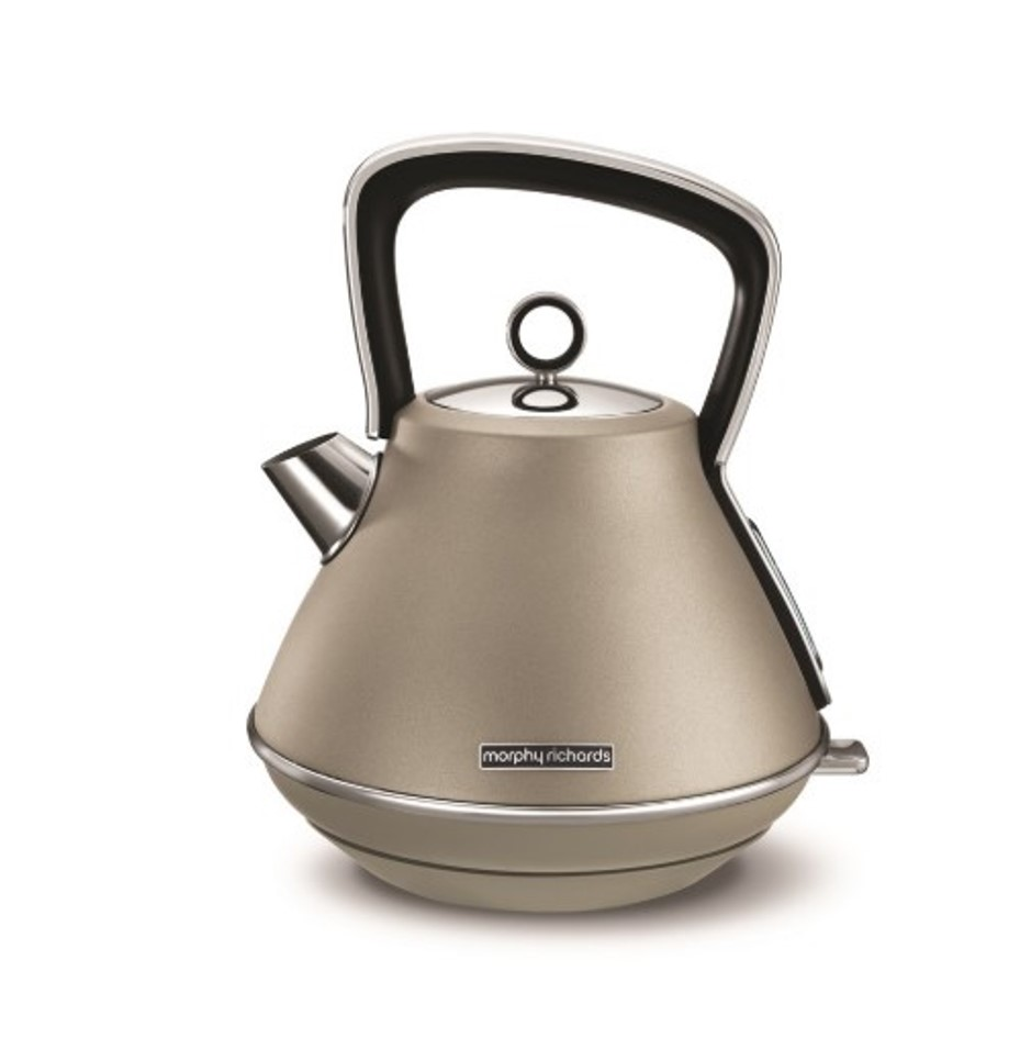 Онлайн каталог PROMENU: Чайник электрический Morphy Richards EVOKE, объем 1,5 л, платиновый                               100103EE