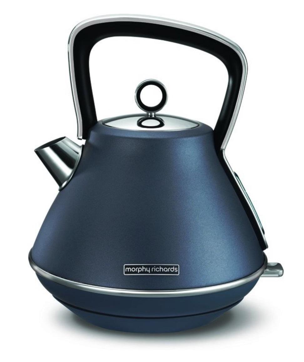 Онлайн каталог PROMENU: Чайник электрический Morphy Richards EVOKE, объем 1,5 л, синий                               100102EE